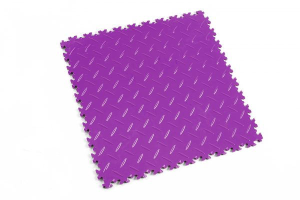 Novare Floors - Robusto Tiles - Diamond - Purple