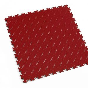 Novare Floors - Robusto Tiles - Diamond - Red