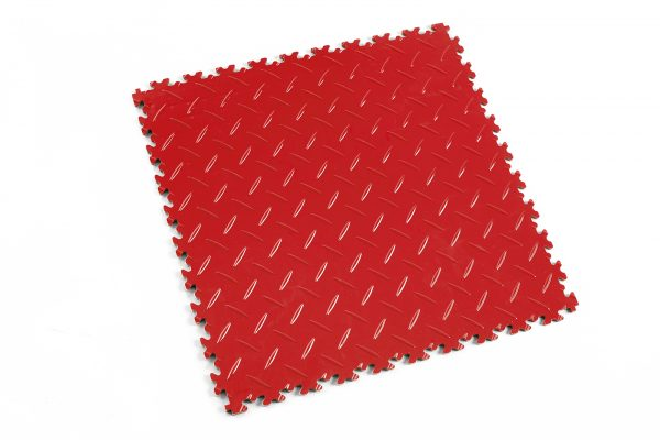 Novare Floors - Robusto Tiles - Diamond - Rosso Red