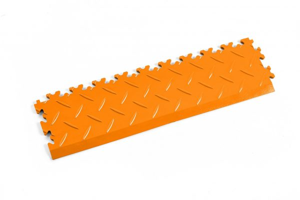 Novare Floors - Robusto Tiles - Diamond - Edge/Ramp - Orange