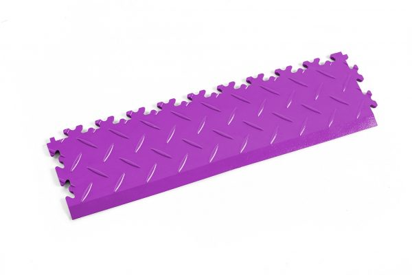 Novare Floors - Robusto Tiles - Diamond - Edge/Ramp - Purple