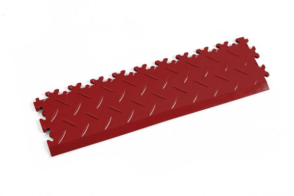 Novare Floors - Robusto Tiles - Diamond - Edge/Ramp - Red