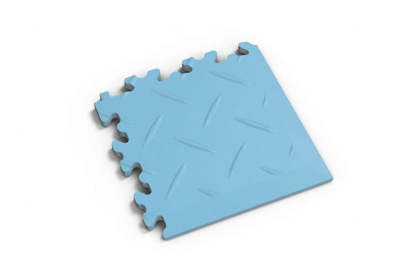 Novare Floors - Robusto Tiles - Diamond - Corner - Light Blue